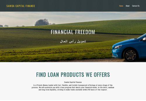 لقطة شاشة لموقع Sawda Capital Finance بتاريخ 03/04/2021 بواسطة دليل مواقع موقعي