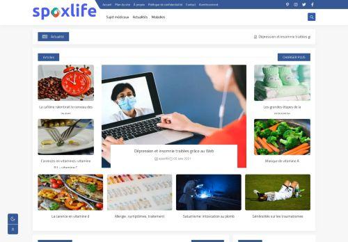 لقطة شاشة لموقع spoxlife بتاريخ 09/06/2021 بواسطة دليل مواقع موقعي