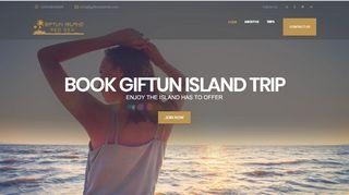 لقطة شاشة لموقع جزيرة الجفتون Giftun Island بتاريخ 31/12/2019 بواسطة دليل مواقع موقعي
